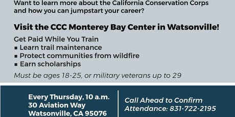 CCC Monterey Bay Information Sessions tickets