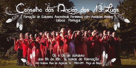 Conselho das Anciãs das 13 Luas em Lisboa bilhetes