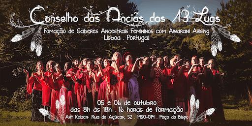 Conselho das Anciãs das 13 Luas em Lisboa