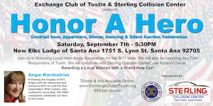 Exchange Club of Tustin's Inaugural Honor A Hero Gala