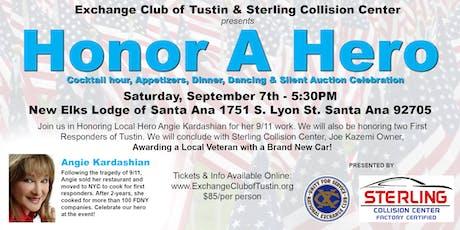 Exchange Club of Tustin's Inaugural Honor A Hero Gala tickets