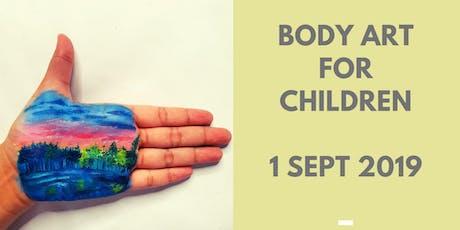 Body Art for Children @ Kids Art party tickets