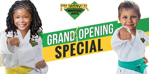 Grand Pre-Opening Special at Premier Martial Arts Westlake!