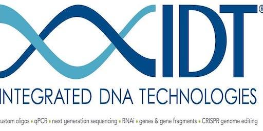 IDT CRISPR Lunch & Learn @ UC Berkeley LKS Rm 345