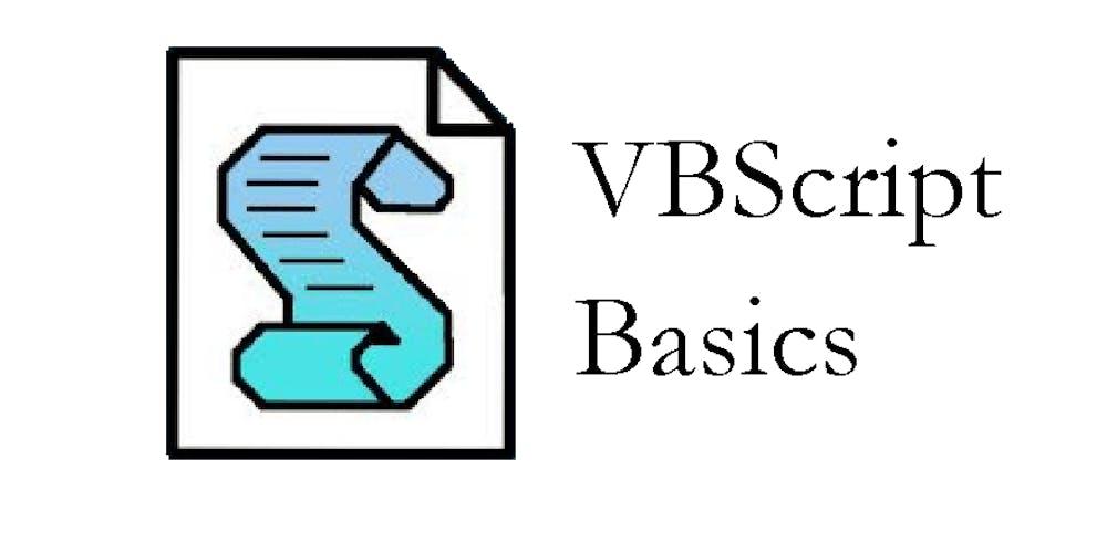 VBScript Basics September 2019