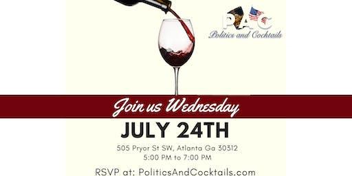 Politics & Cocktails: July Happy Hour