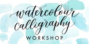 Watercolour Brush Calligraphy Workshop