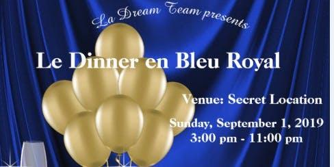 Dinner En Bleu Royal