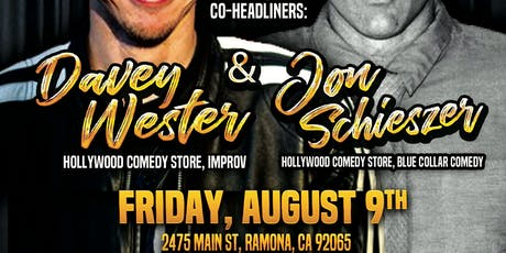 Cheers of Ramona: Comedy Night: Fri. Aug 9th 9:00 pm tickets