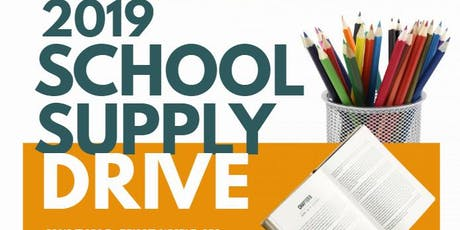 2019 School Supply Drive tickets