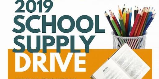 2019 School Supply Drive