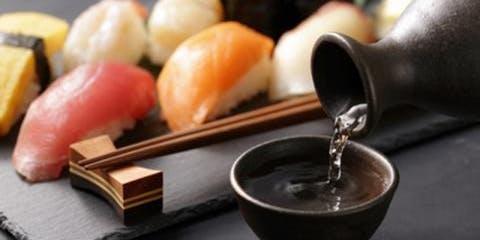Sushi, Sake, and Homemade Wasabi