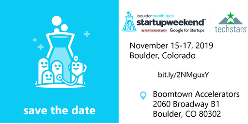 Boulder Health Tech Startup Weekend