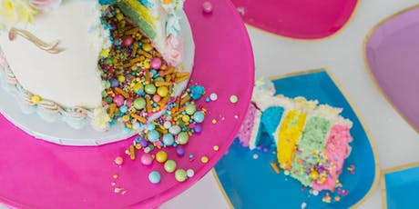 Unicorn Explosion Cake Class tickets