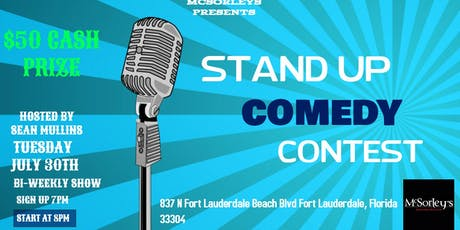 Stand Up Comedy Contest at McSorleys Beach Pub tickets
