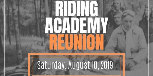 Riding Academy Reunion Ride
