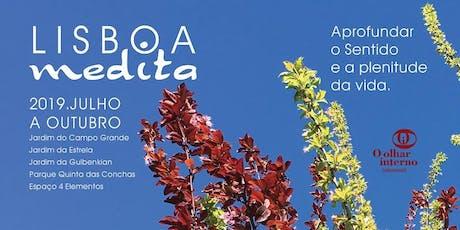 Lisboa Medita - Meditação no Jardim da Estrela bilhetes