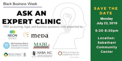 """""""Ask an Expert"""" Clinic"""