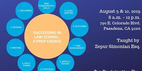 Succeeding in Law School: A Prep Course tickets