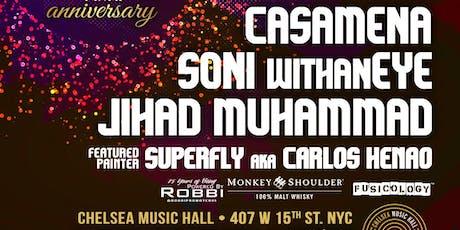 July 21: Funkbox NYC - 11 Year Anniversary tickets