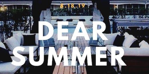 8.18 | DEAR SUMMER | Hamptons Pool Party Experience| Ryo's bday celebration