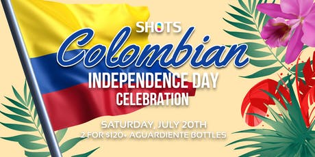 Colombian Independence Day Celebration Wynwood tickets