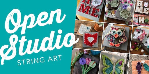 String Art: Pick Your Project / Strung Studio, Canton