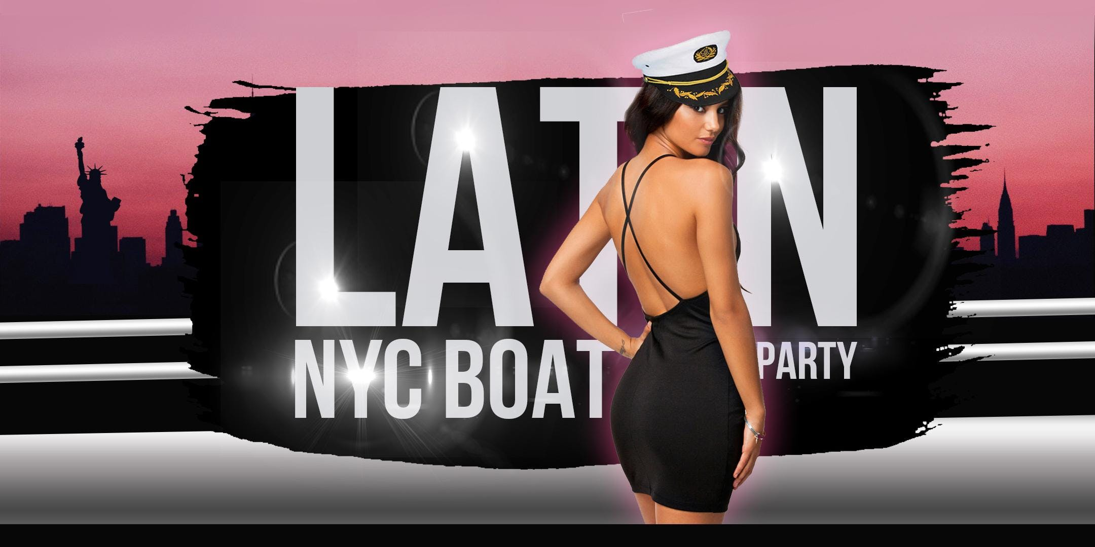 NYC #1 Official LATINA Boat Party Manhattan Yacht Cruise