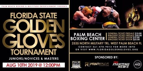 Florida Golden Gloves Tournament  tickets