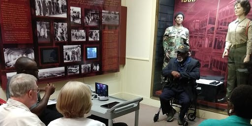 Live Veteran Interviews and Workshops with the Library of Congress