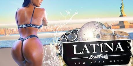 El # 1 LATINA Crucero oficial en yate para fiestas en barco en NYC tickets