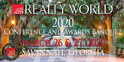 2020 Realty World Conference and Awards Banquet‏