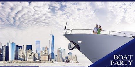 #1 NYC Statute of Liberty Cruise around Manhattan  - Boat Party tickets