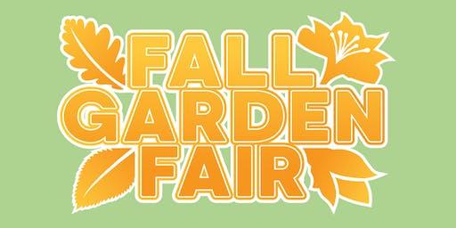 Fall Garden Fair 2019
