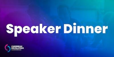 Speaker Dinner
