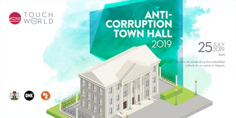 Anti-corruption Town Hall tickets