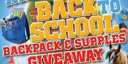 Kids Back To School School Supplies Giveaway