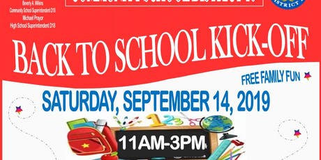 District 18 Back To School Kick-Off tickets