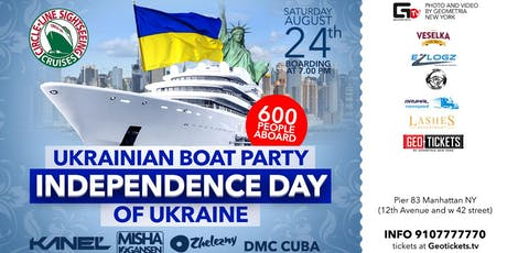 Ukrainian Boat Party #3 Independence Day of Ukraine tickets