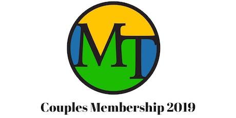 Couples Membership 2019 tickets
