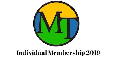 Individual Membership 2019 tickets