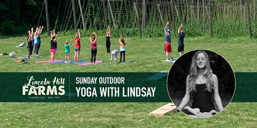 Yoga with the Hops @ Lincoln Hill Farms