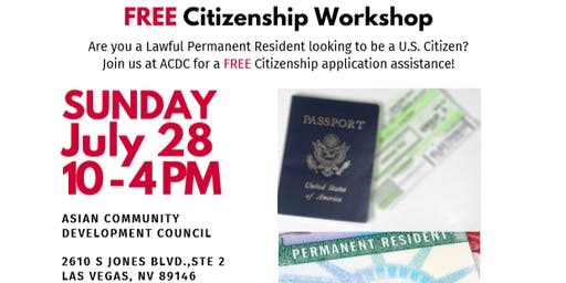 Free Citizenship Workshop