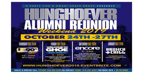 GHOE -  HunGHOEver Alumni Reunion Weekend 2019