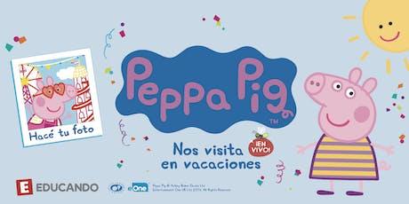 Peppa Pig en Vivo en Jugueterías Educando  entradas