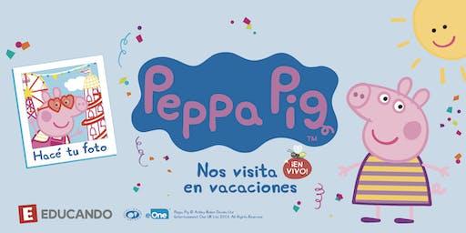 Peppa Pig en Vivo en Jugueterías Educando