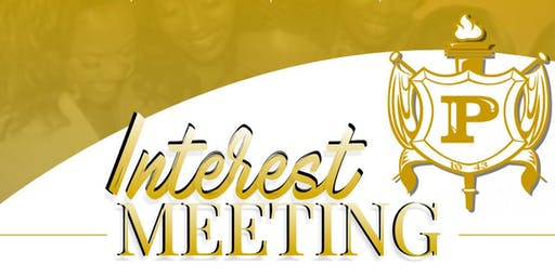 The Mighty Philos of Mu Gamma Sigma  Alumnae Chapter - Interest Meeting