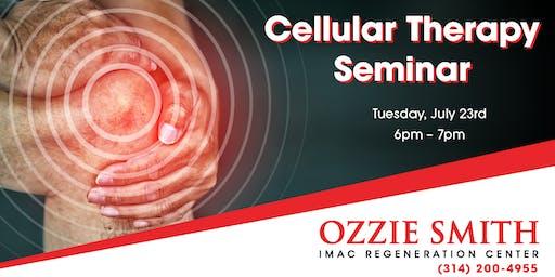 Ozzie Smith Center Cellular Therapy Seminar - 7/23