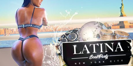 LATINA Boat Party NYC Sunset Day Yacht Cruise Friday August 2 tickets