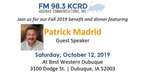 Fall 2019 KCRD Benefit with Patrick Madrid